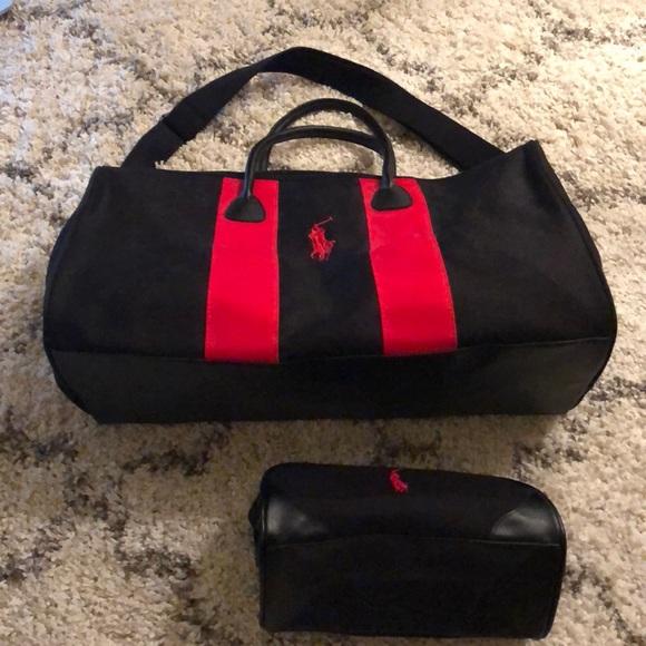 4ea1e90f4f7f Polo Duffle Bag and Small Cosmetic Case. M 5b04c9fa3afbbd2effab7108